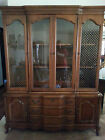 Vintage Bassett Furniture Industires China Hutch...MUST SEE!!!