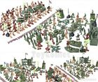 238 pcs Military Toy Soldiers Army Men 5cm Figures & Accessories Playset
