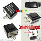 2-Pin Adjustable Speed LED Turn Signal Flasher Relay FIX Ducati Motorcycle Hyper