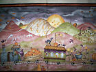 1 PANEL THE HAUNTED HOLLOW II Red Rooster Paton Bats train cats pumpkins