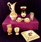 multi Lot Downton Abbey styl items Echt Weimar Porcelain Leffon China Gold 1949