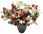 SHANS Silk Flower Artificial Home Wedding Decor Bridal Bouquet