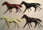 Vintage Marx Western Fort Apache & Custer Play Set 54mm Cavalry Horse Lot #2