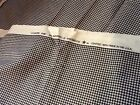 Made In U.S.A. WAVERLY Black/Ivory Gingham Fabric