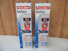 First Alert Kitchen Fire Extinguisher ~ 5-B:C ~ White ~ Quick Release ~ 2-Pack