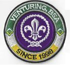 Venturing, BSA Since 1998 RING with World Crest - Private Issue Non BSA V RING