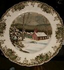 Vintage Johnson Brothers Friendly Village Large Dinner Plate The Well 10 5/8