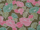 Visual Effects by Studio 37 for Marcus Brother BTY Green Pink Light Coral Floral