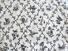 Black White Toile Farmstead Waverly 2 yds 56 wide 100% cotton