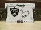 National Treasures Signature Patches Autograph Raider Auto Tim Brown 20 26 2008