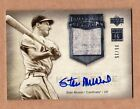 2005 hall of fame #6 15 STAN MUSIAL auto ud CARDINALS signed MINT hof jersey 1 1