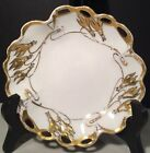 Rosenthal China Trinket Dish Bowl Signed Porter Antique Gold Leaf Design 6