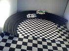 Tyco  Banked Curve  Track # B 5847 Black For Ho Scale SLOT CARS Lot of 4