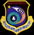USAF SATELLITE AND LAUNCH CONTROL SYSTEMS  PROGRAM OFFICE ORIGINAL SPACE PATCH