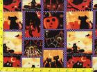 Spooky Halloween Patchwork By The Yard CHAMIS10095