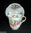 VICTORIA Cartwright & Edwards England DAISY Pattern Bone China CUP and SAUCER