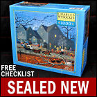 Charles Wysocki - Hellraisers On Halloween Night  - 1000 Puzzle Witch Cat - New