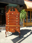 Grand American Mahogany Chippendale Ball & Claw Highboy 20th century