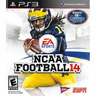 BRAND NEW SEALED PS3 COLLEGE FB! NCAA Football 14 (Sony Playstation 3, 2013)