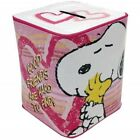 Peanuts Good Friends Tin Bank SNOOPY & Woodstock Licensed NEW! Collectible!
