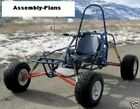 Dune Buggy Go Kart Cart Assembly Plans How to Build Homebuilt Project on CD R