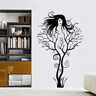 Creative Sexy Girl Tree Removable Wall Sticker Decal Home Decor Vinyl Mural Art