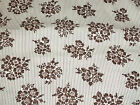 2 yd Whittaker Reproduction Cotton Wallpaper Print Fabric MBT  BFR