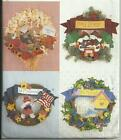 Butterick 4225 - Seasonal Wreaths Pattern - FF