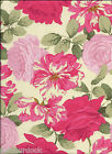 STRIPPED ROSE Fabric in Bright by Martha Negley for Rowan - price per 1/2 yard