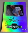 2012 PRESS PASS LEGENDS HALL OF FAME HOF JACK NICKLAUS 9 10 ON CARD RED AUTO SP
