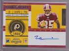 2011 Playoff Contenders Rookie Ticket Leonard Hankerson On Card Auto Rc