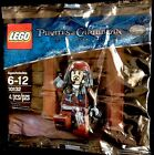 Lego Pirates Of The Caribbean Jack Sparrow Figure New Sealed Collectible