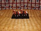 VINTAGE JAPAN METAL COWBOY MINIATURE HOLLOW LEAD PAINTED TOY HORSES PONY LOT