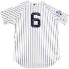 Joe Torre Signed New York Yankees Authentic Pinstripe Jersey w 1998 WS Patch