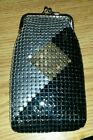 New Mesh Gold & Silver & Black 120's Cigarette Snap Case Virginia Slims