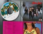 BON JOVI Slippery When Wet JAPAN PICTURE CD w/AXIA SLEEVE+PS+INSERT 32PD-1001