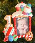 Hallmark  My First Christmas  Photo Holder  Child's Age Collection NO DATE