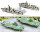 4 pcs Military Aircraft Carrier Ship Battleship Army Men Toy Soldier Accessories