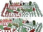 238 pcs Military Plastic Toy Soldiers 3cm Figures & Accessories Army Playset