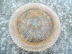 Miss America ? Pink Depression Glass  Divided Relish Dish Tray/s
