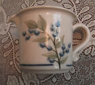 12 OZ LARGE CREAMER or SYRUP PITCHER Union Maine Stoneware Blueberry Pottery