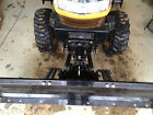CUB CADET YANMAR EX 2900 3200 FRONT HITCH AND PLOW HYDRAULIC LIFT