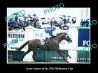 LARGE HISTORIC HORSE RACING PHOTO OF JEUNE 1994 MELBOURNE CUP WINNER 1