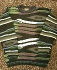Bachrach Mens M Bill Cosby Style Biggie style knit crewneck sweater camouflage