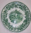 Vintage Booths British Scenery Divided Plate Green