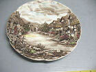 JOHNSON  BROS. OLDE  ENGLISH  COUNTRYSIDE  8 '' DINNER PLATE   PRISTINE