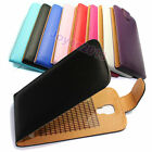 Clamshell PU Leather Flip Case Cover For Que Products Smarphone /u choose model