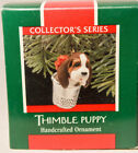 Hallmark - Thimble Puppy - 12th in Series - Keepsake Classic Ornament