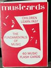Vintage Deck of 1962 Music Flash Cards - Musicards - New in Pack Complete!