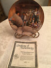 Little House on the Prairie 1st Edition Welcome To Walnut Grove  Plate